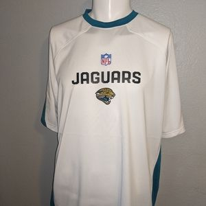 Reebox Jaguars NFL Play Dry Shirt Large Excellent